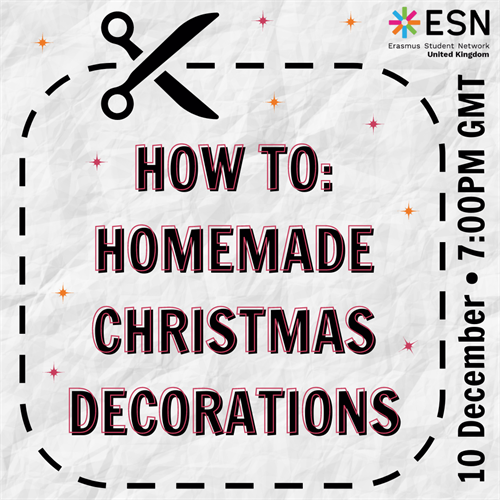 How to: Homemade Christmas Decorations with ESN